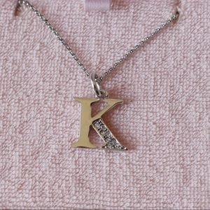 Juicy Couture Letter K Necklace